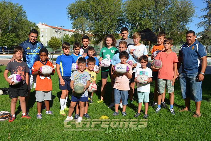 Nace la Escuela de Rugby de Aranjuez