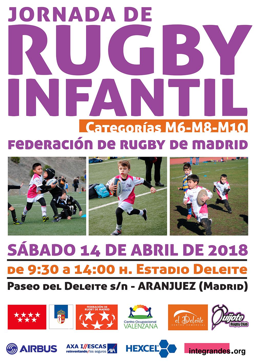 Xª Jornada de Rugby Infantil de la FRM