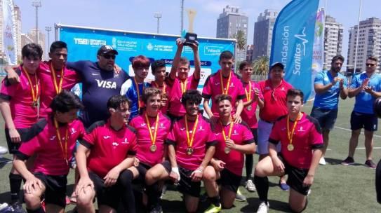 Recepción en la Consejería de Deportes a la Selección de Castilla-La Mancha de Rugby Inclusivo tras ser Campeona de España