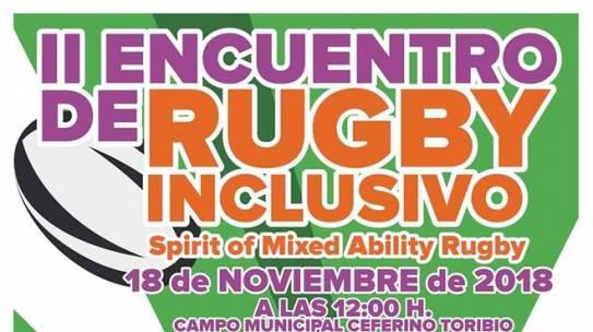 II encuentro de rugby inclusivo.
