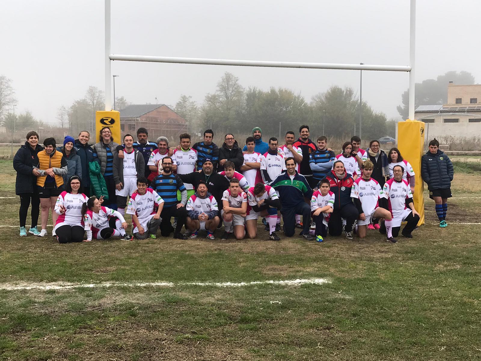 Entrenamiento y talleres en el III Encuentro de Rugby Inclusivo