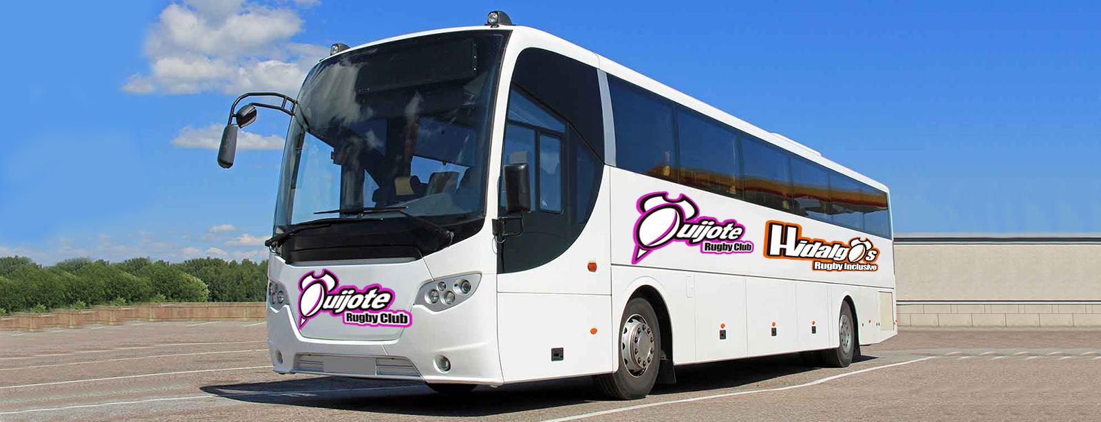 Servicio de autobús para el evento MIXER de rugby inclusivo del 26 de Octubre en la Universidad Complutense