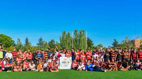 Hidalgos en el Encuentro Nacional de Rugby Inclusivo