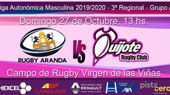 CD Rugby Aranda Vs Quijote RC (27-10-19)
