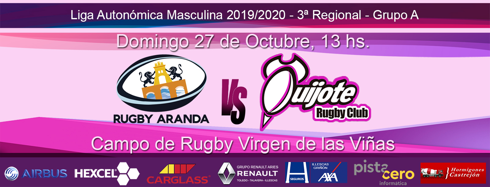 CD Rugby Aranda Vs Quijote RC (27-10-19)