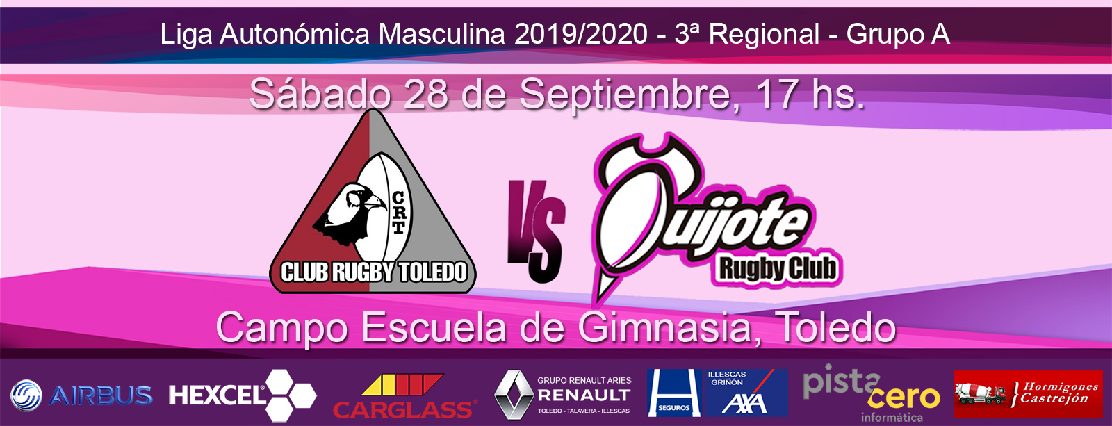 PDM Rugby Toledo vs Quijote Rugby Club (29-09-19)