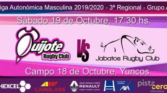 Quijote RC vs Jabatos Móstoles RC (19-10-19)