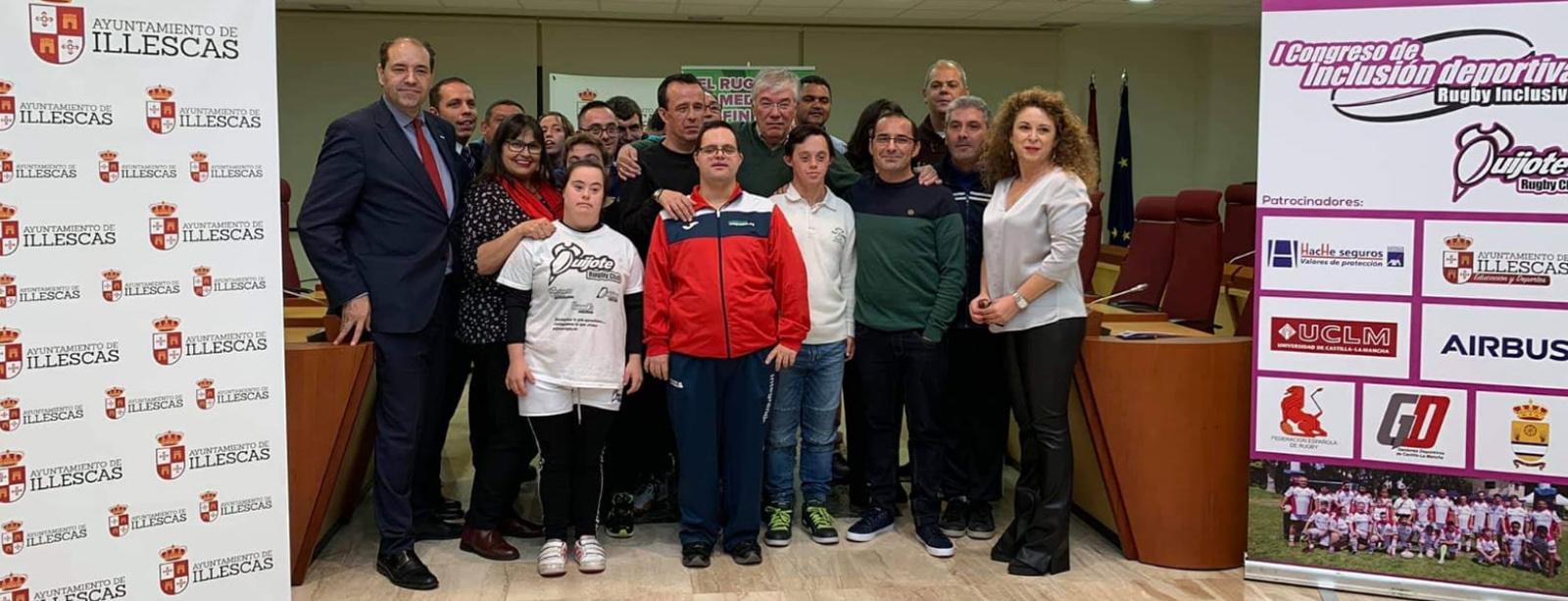 Down España y Quijote Rugby Club se unen para fomentar el rugby inclusivo