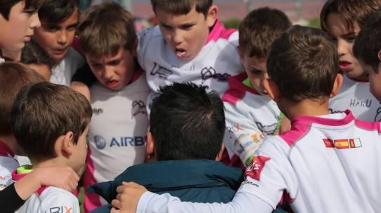 Mañana de rugby en Yuncos junto a los M8, M10 y M12