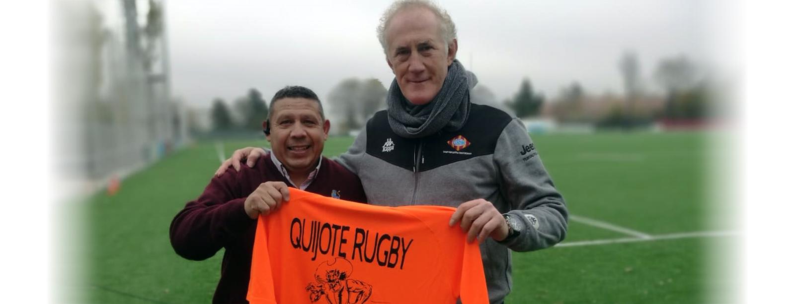 Un mensaje de Albert Malo para el Quijote Rugby Club