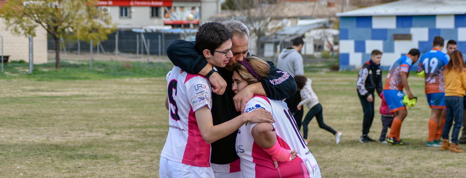 Jornadas de Rugby Inclusivo por el Día Internacional de las Personas con Discapacidad: absoluto éxito de la convocatoria del Quijote RC