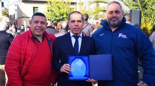 El Ayuntamiento de Yuncos premia al Quijote RC por su labor en favor del Rugby Inclusivo