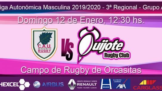 CAU Metropolitano RC vs Quijote RC (12-1-20)