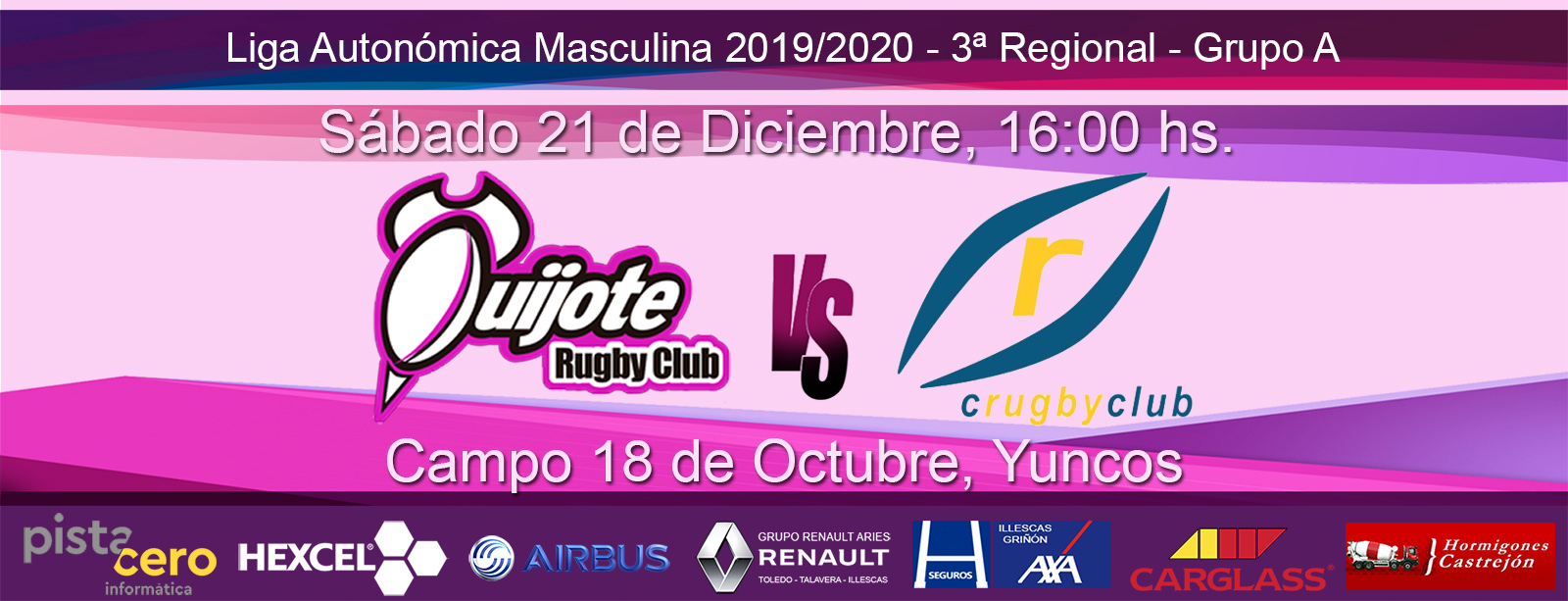 Quijote Rugby Club vs CRC Pozuelo