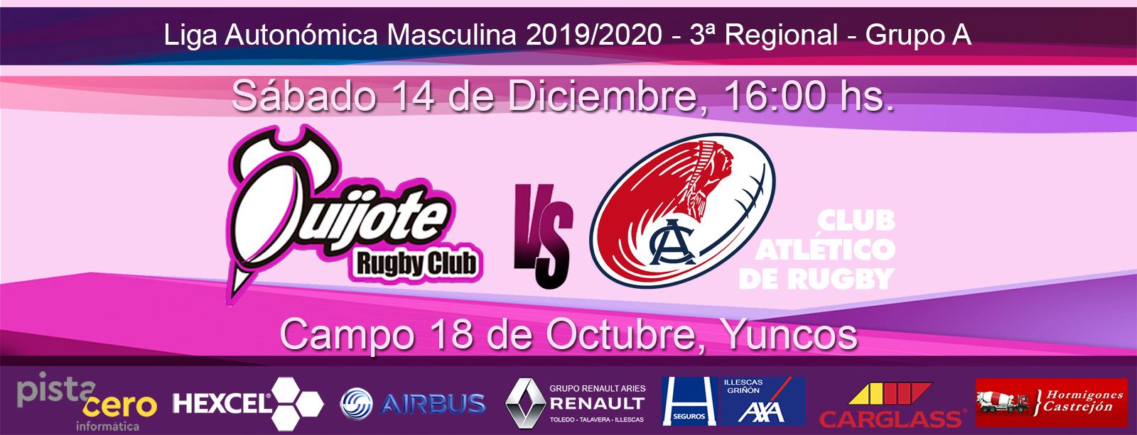 Quijote Rugby Club vs Knave Aeronáuticos B