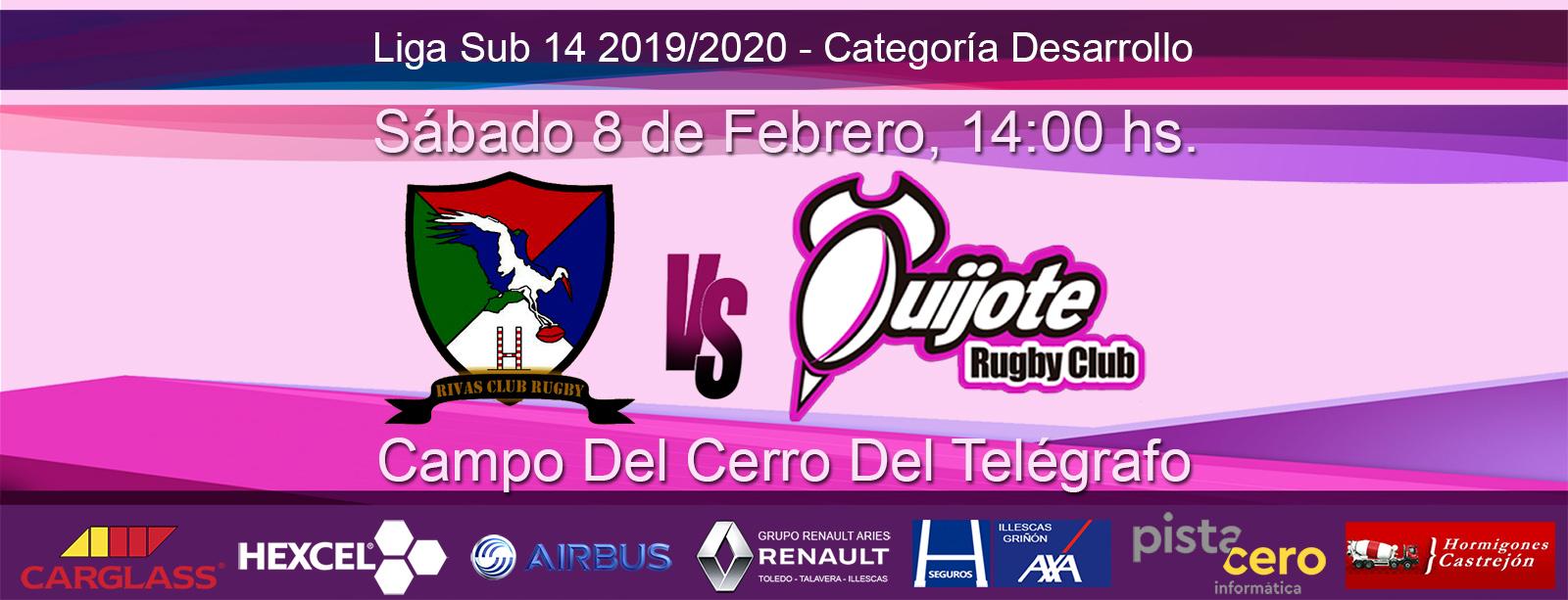 Sub14: Rivas-Torrejón vs. Quijote RC (8-02-20)