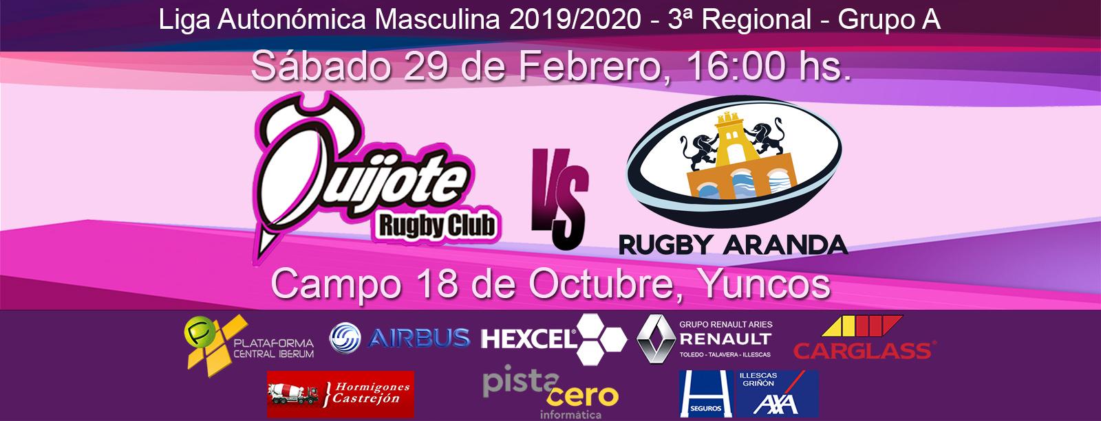 Quijote Rugby Club vs CD Rugby Aranda (29-02-20)