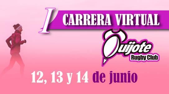 Participa en la I Carrera Virtual del Quijote Rugby Club!