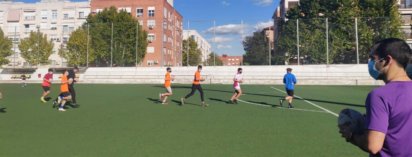 Vuelta segura a los entrenamientos en Aranjuez