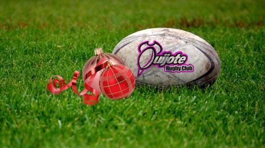 Un brindis diferente en el Quijote Rugby Club