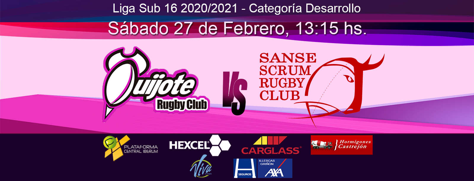 Sub16: Quijote RC vs Sanse Scrum (27/02/21)