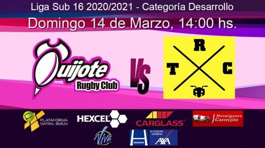 Sub16: Quijote RC vs RUN Torrelodones (14-03-21)