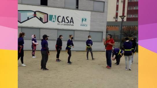 Rugby Tag: Practicando igualdad no solo el 8 de marzo