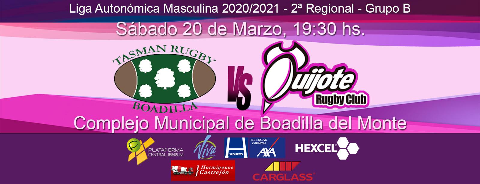 Tasman Rugby Boadilla vs Quijote RC (20/03/20)