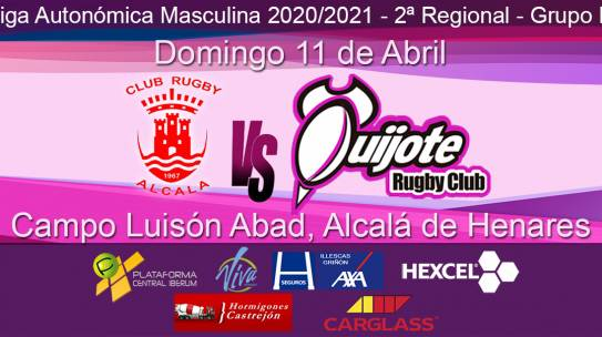 Club Rugby Alcalá vs Quijote Rugby Club (11/04/21)