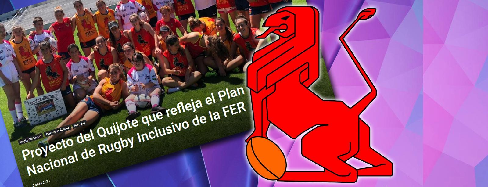 La Federación Española de Rugby junto al Quijote RC