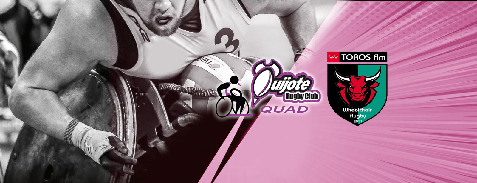 Debut de nuestro equipo de rugby en silla de ruedas: Quijote RC vs. Toros FLM