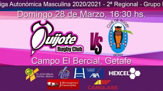 Quijote RC vs Club de Rugby Getafe (28/03/21)