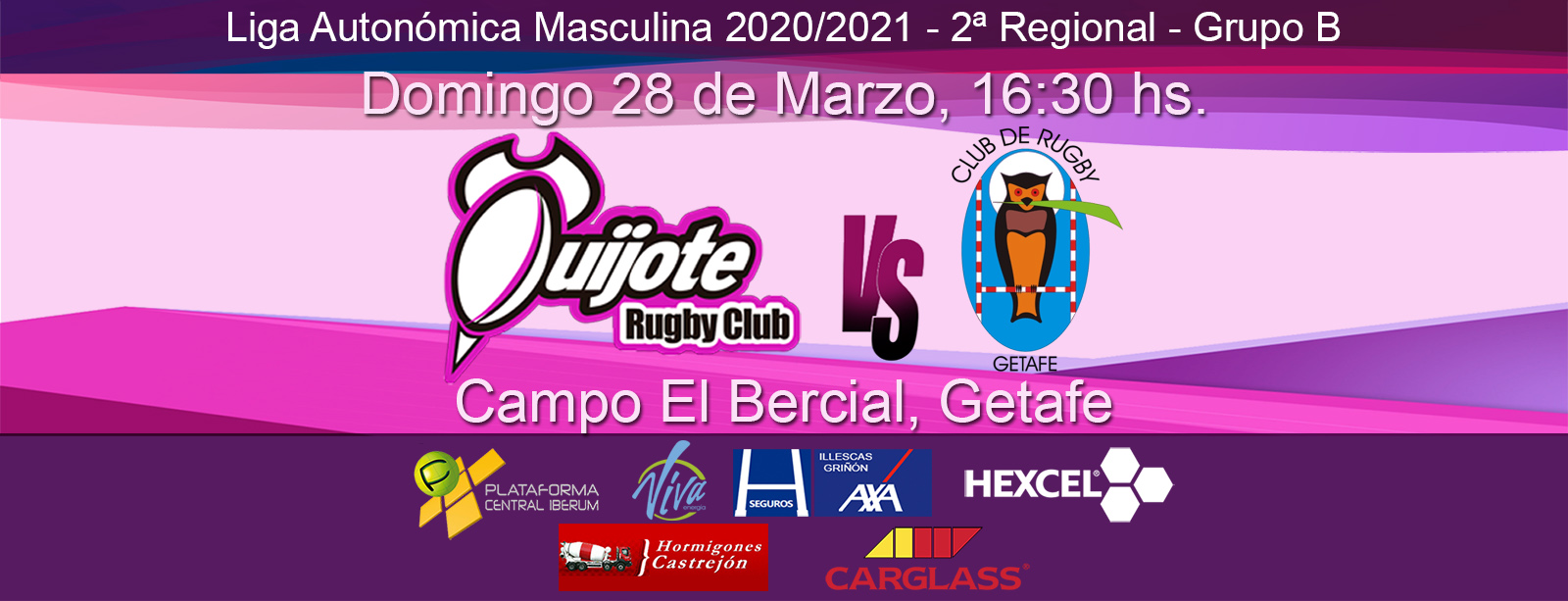 Quijote RC vs Club de Rugby Getafe (28/03/21)