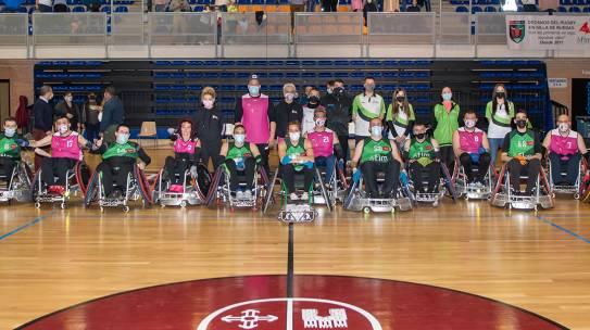 Quijote Quad vs Toros FLM, primer partido oficial de nuestro equipo de rugby en silla de ruedas
