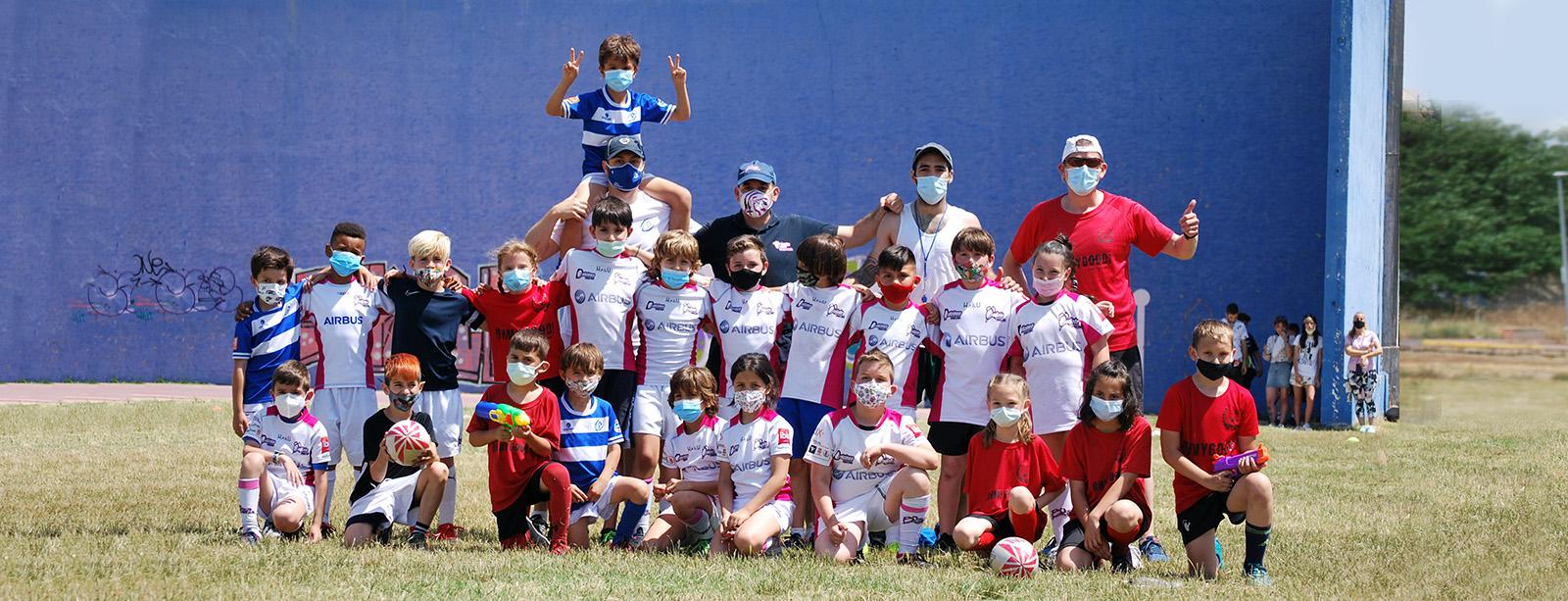 Fin de semana de escuelas de rugby en Yuncos