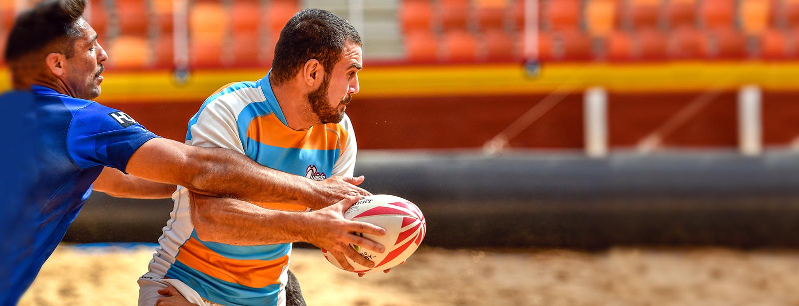 Espectacular inicio de las series de Rugby Playa 5 en la Plaza de Toros de Illescas